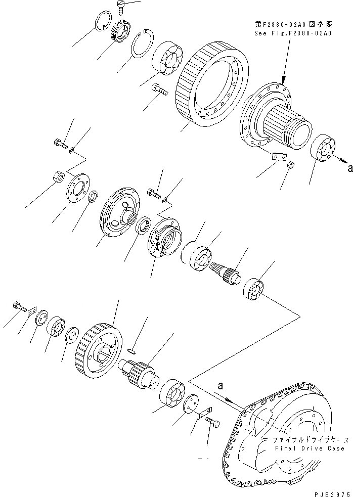 175-27-31463 Komatsu Фланец