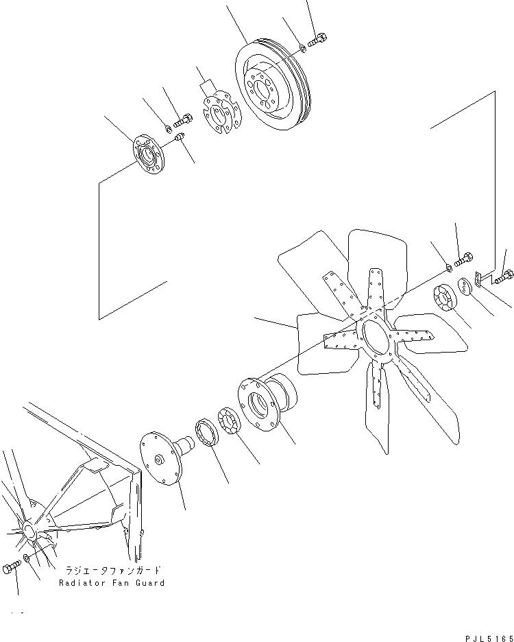 06040-06310 Komatsu Подшипник