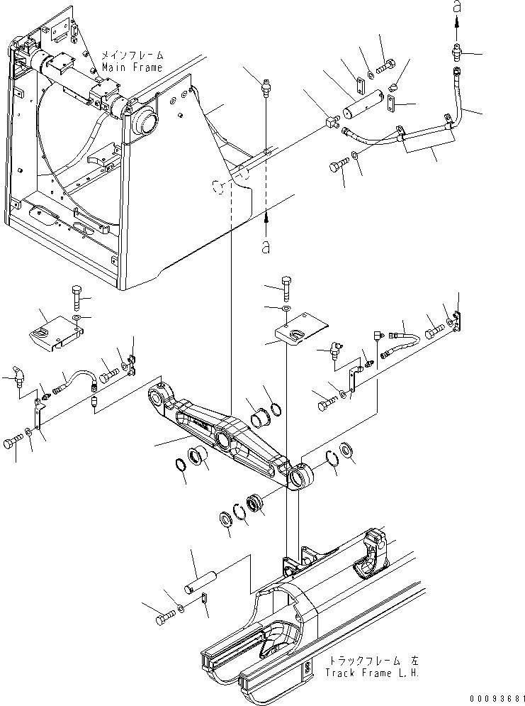 14X-50-51181 Komatsu ШЛАНГ