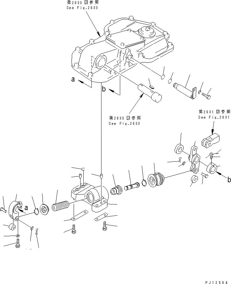 170-33-13370 Komatsu ПРУЖИНА