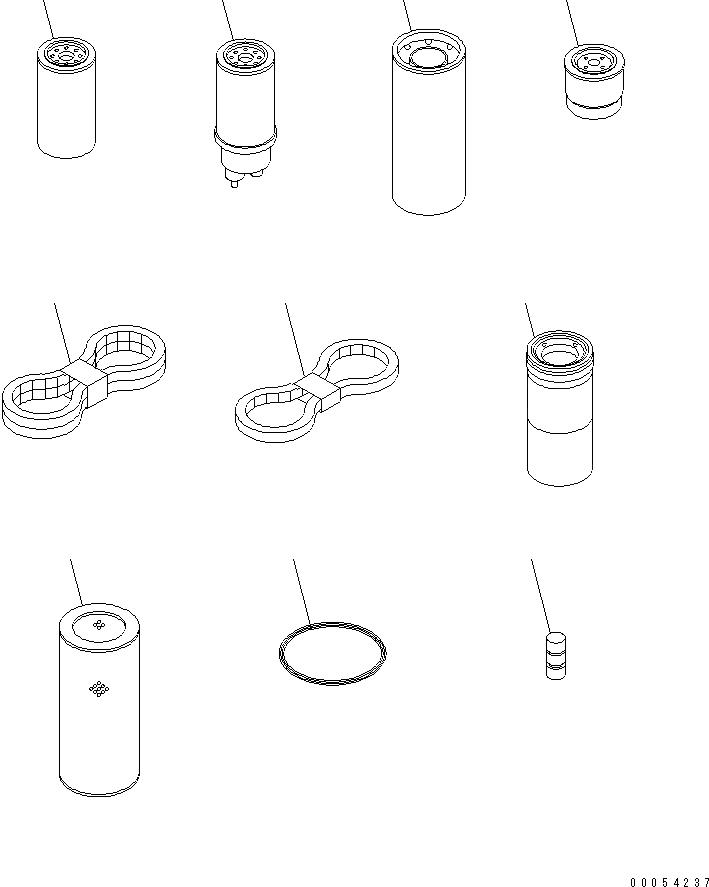 6743-61-1411 Komatsu РЕМЕНЬ ПРИВОДНОЙ