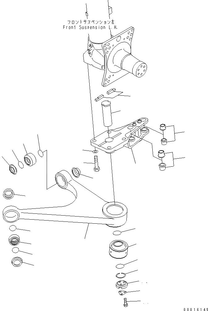 07137-05509 Komatsu Втулка гидроцилиндра