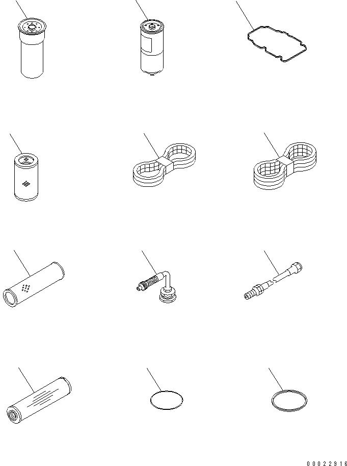 04121-21740 Komatsu Ремень генератора