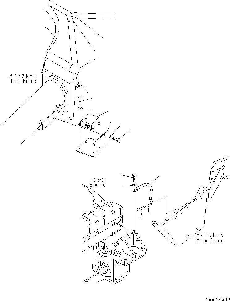 08028-42025 Komatsu ЭЛЕКТРОПРОВОД