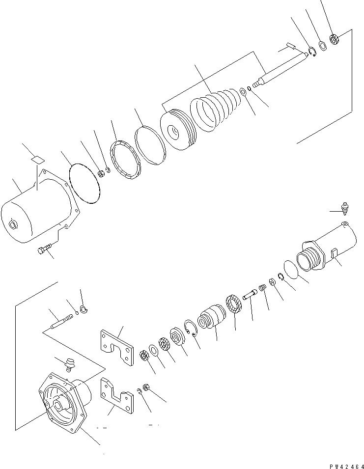 561-35-61400 Komatsu ТОРМОЗНАЯ КАМЕРА