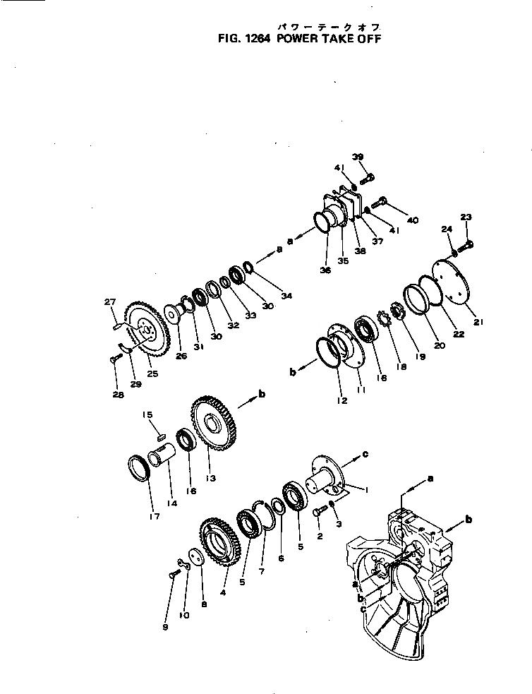 6691-21-4160 Komatsu ШЕСТЕРНЯ