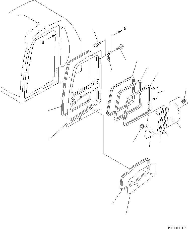 01435-41225 Komatsu БОЛТ