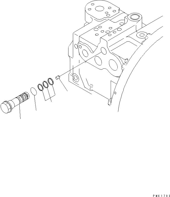 708-2L-24680 Komatsu ПРОКЛАДКА