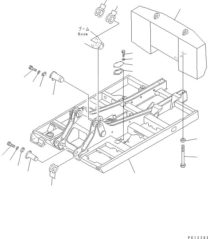 21N-72-11230 Komatsu РЕГУЛИРОВОЧНАЯ ПРОКЛАДКА