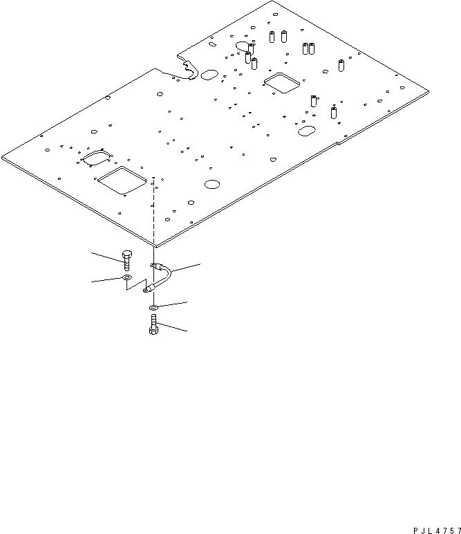 08028-43030 Komatsu КАБЕЛЬ
