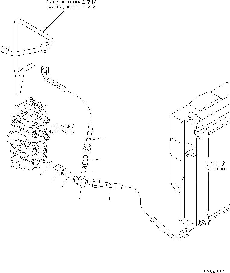 203-62-63740 Komatsu СОЕДИНЕНИЕ