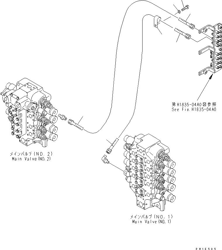 02760-00309 Komatsu ШЛАНГ