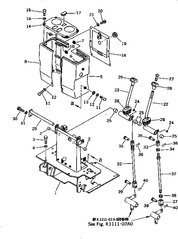 06600-00805 Komatsu ВТУЛКА