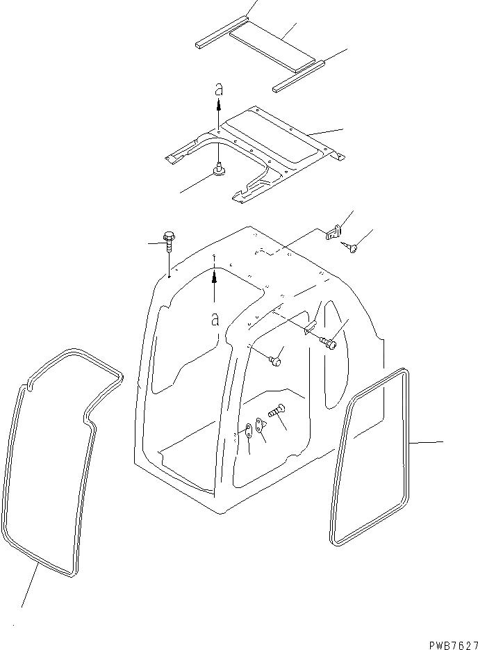 20Y-54-35492 Komatsu УПЛОТНИТЕЛЬ