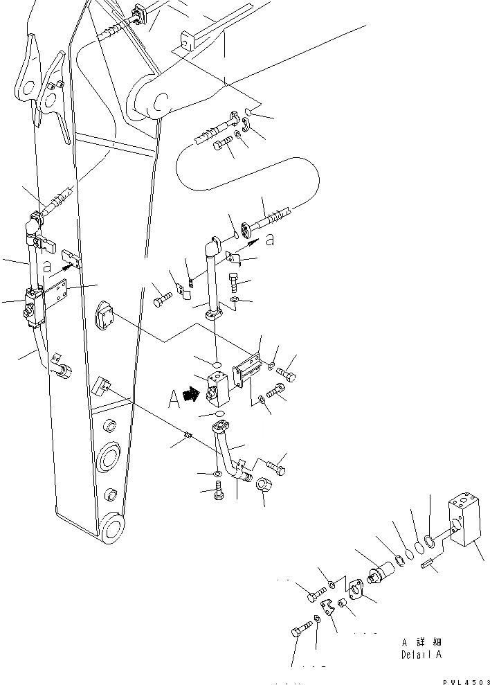 20Y-970-3270 Komatsu НАКЛАДКА