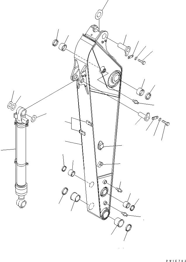 20Y-70-32410 Komatsu Втулка (20Y-70-32321+20Y-70-32331)