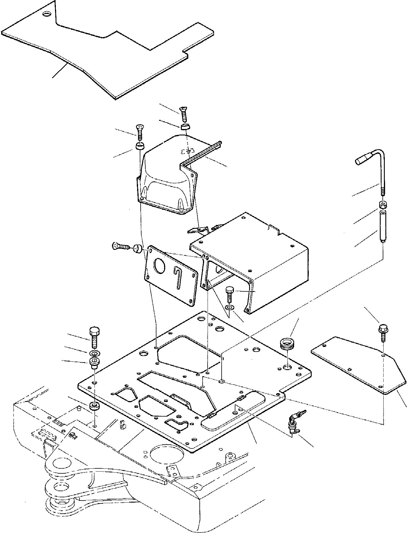 3F1050050 Komatsu OPERATOR