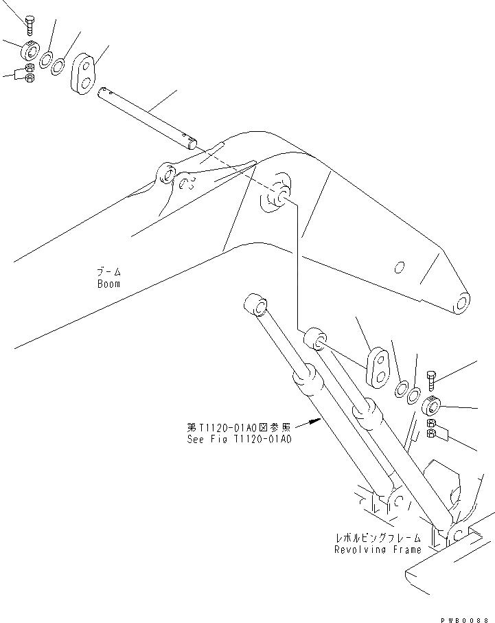 20Y-70-11370 Komatsu Шайба SHIM 80 X 2