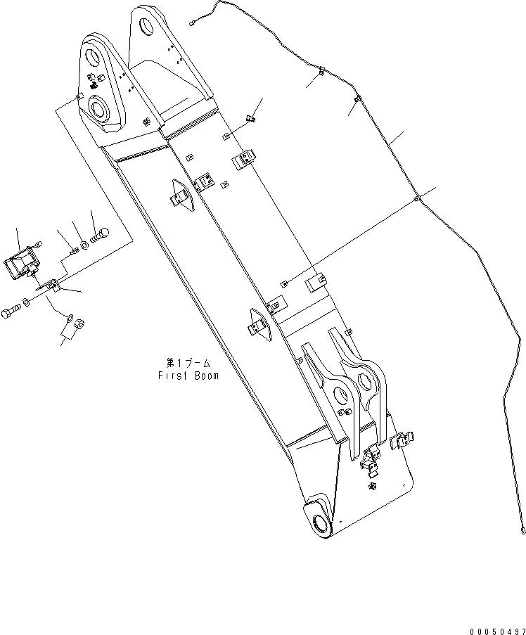 20Y-06-K1850 Komatsu ЭЛЕКТРОПРОВОД