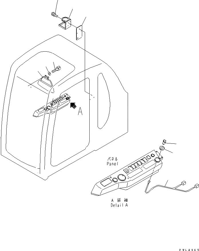 20Y-06-K1820 Komatsu ЭЛЕКТРОПРОВОДКА