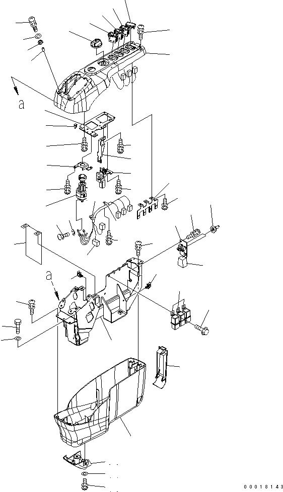 22U-06-22480 Komatsu ПЛАТА