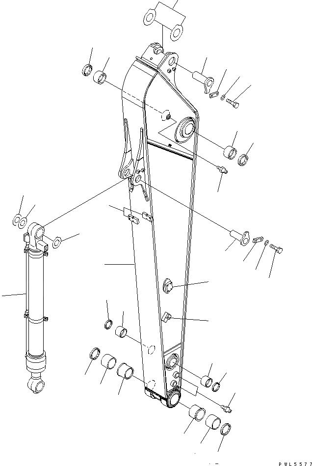 20Y-70-32321 Komatsu Втулка в сборе