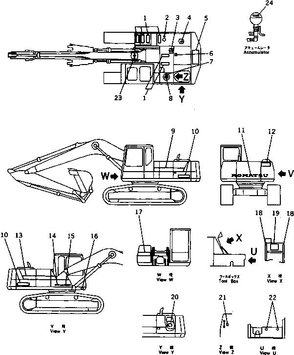 09133-00400 Komatsu НАКЛАДКА