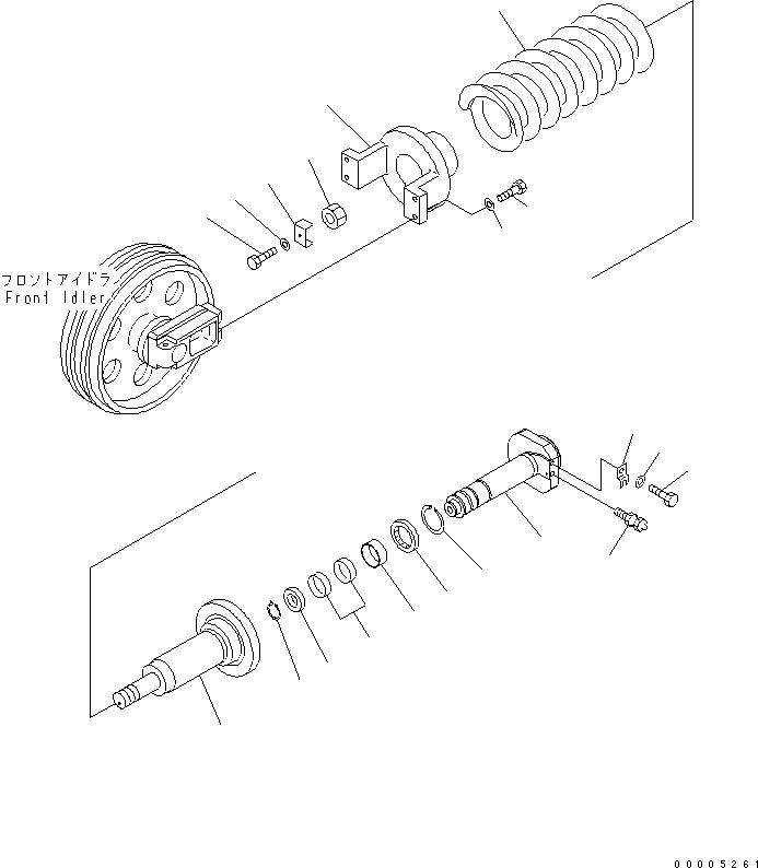 20Y-30-42110 Komatsu ВИЛКА