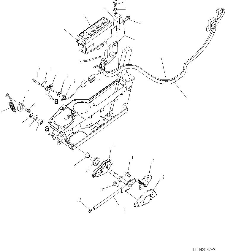 20Y-43-31432 Komatsu КУЛАЧОК КОРОМЫСЛА ГИДРАВЛИЧЕСКОГО НАСОСА