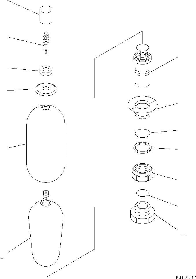 NFEB1601P8 Komatsu ПРОКЛАДКА