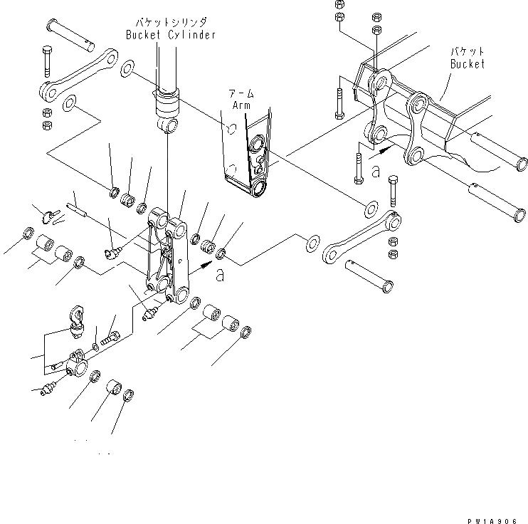 206-70-53150 Komatsu Втулка