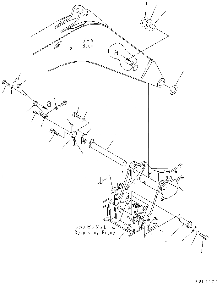 20Y-70-11420 Komatsu РАСПОРНАЯ ВТУЛКА