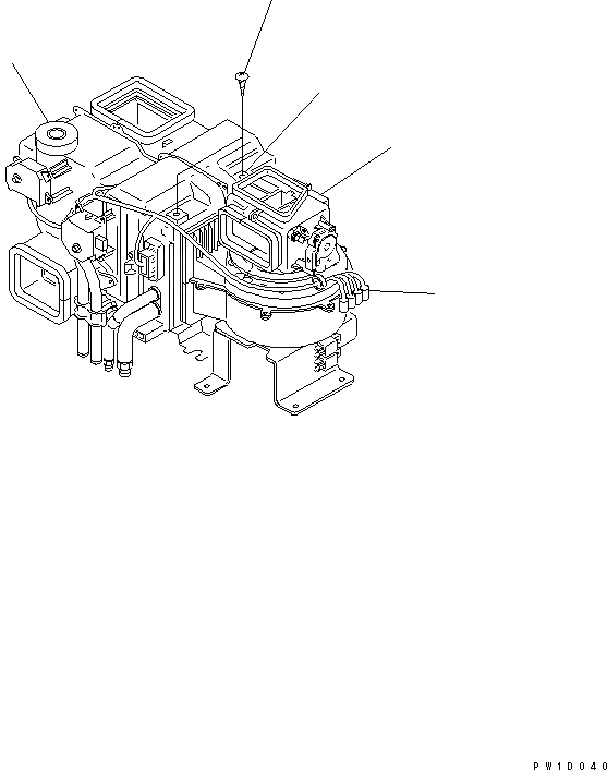 20Y-979-6111 Komatsu ДАТЧИК В СБОРЕ