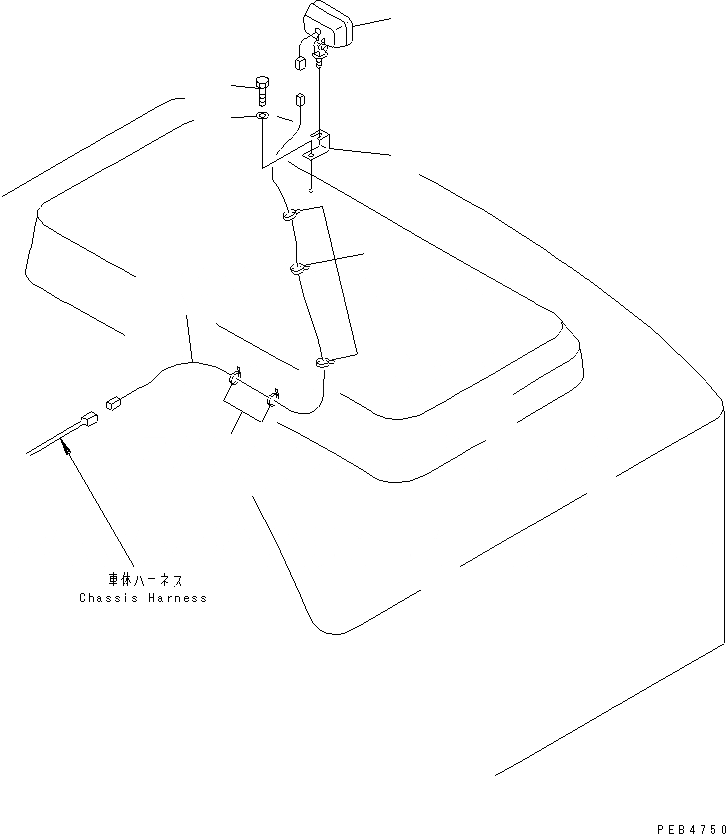 20Y-06-K1780 Komatsu ЭЛЕКТРОПРОВОДКА