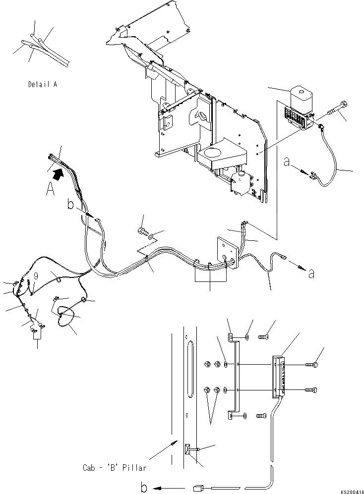 20Y-06-K2780 Komatsu ЭЛЕКТРОПРОВОДКА