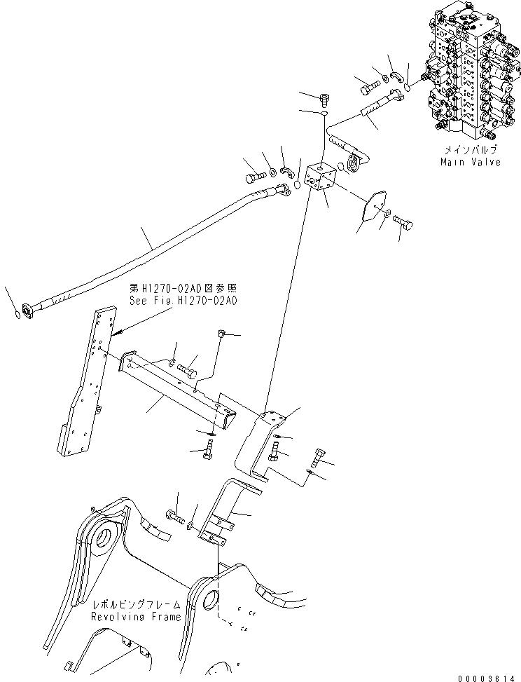 20Y-62-43230 Komatsu КРЕПЕЖНЫЙ КРОНШТЕЙН