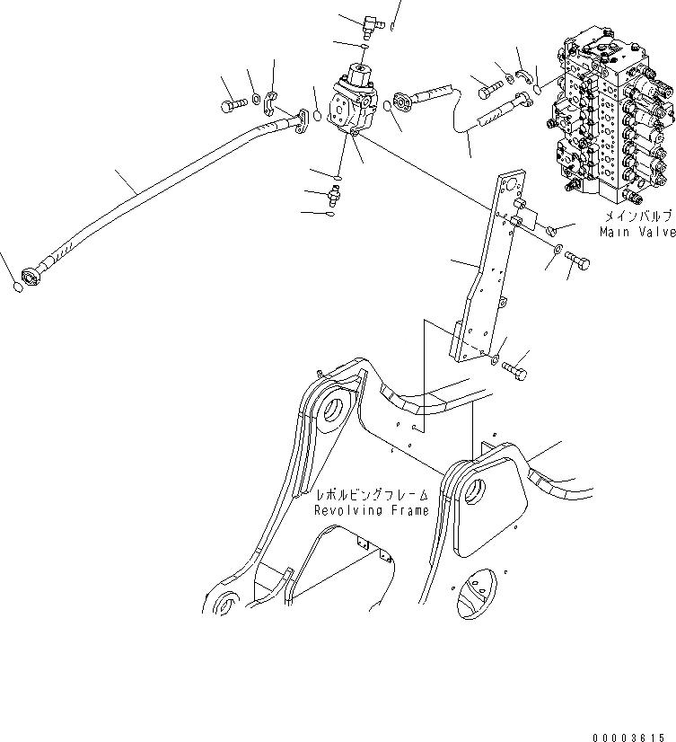 20Y-62-43270 Komatsu КРЕПЕЖНЫЙ КРОНШТЕЙН