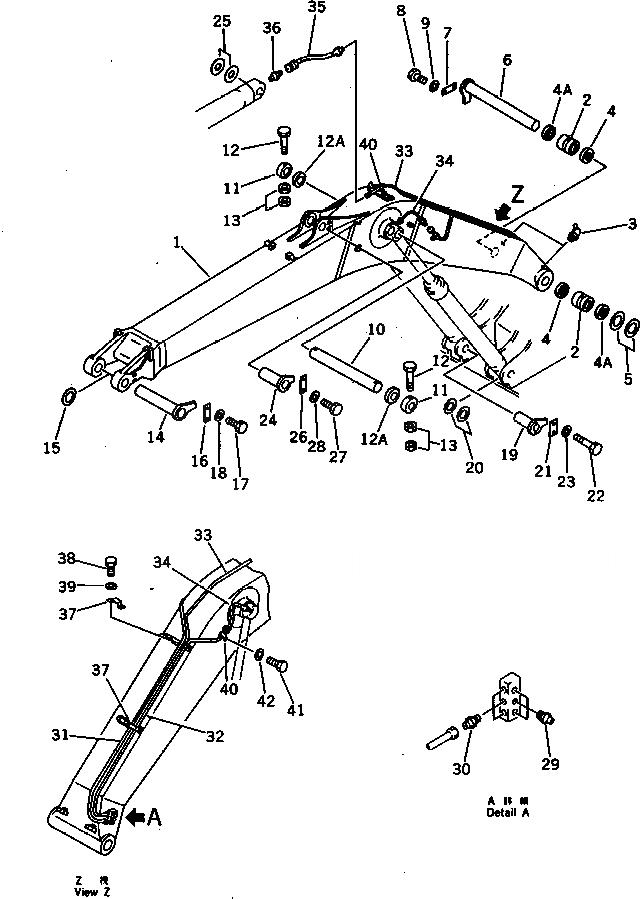 198-79-19280 Komatsu ШЛАНГ