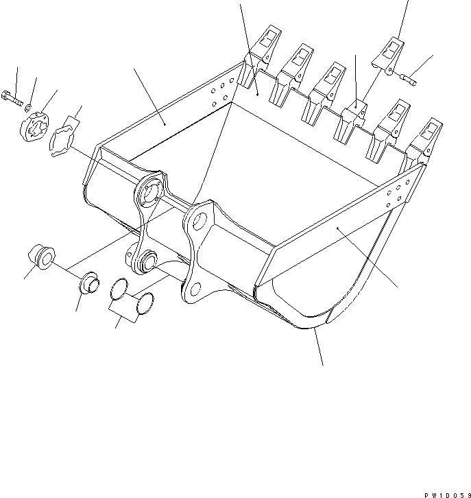2079347251 Komatsu