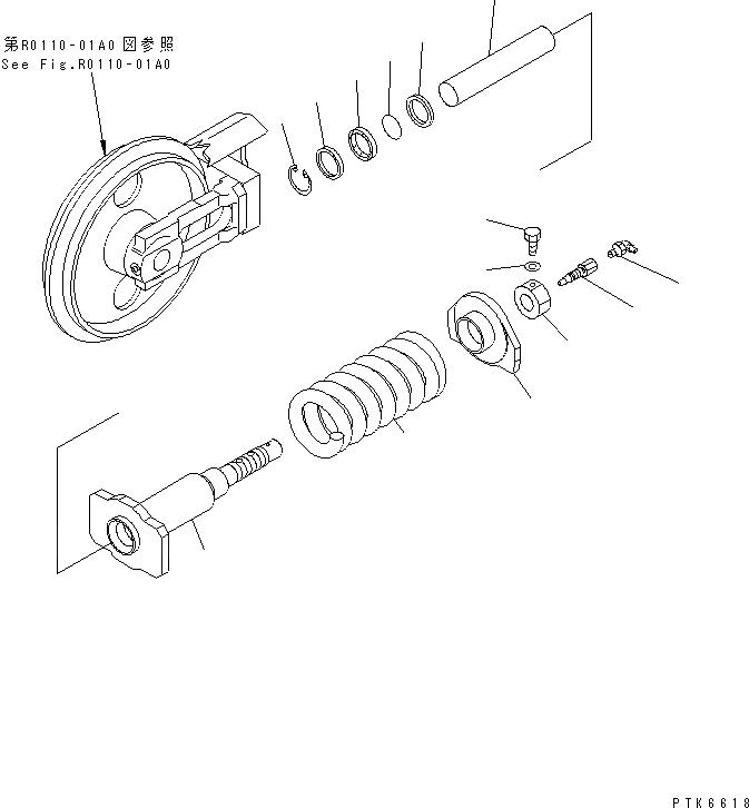 20R-30-21550 Komatsu УПЛОТНЕНИЕ