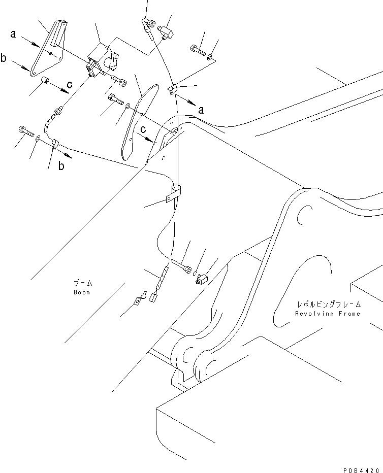 20Y-06-K2530 Komatsu ЭЛЕКТРОПРОВОДКА