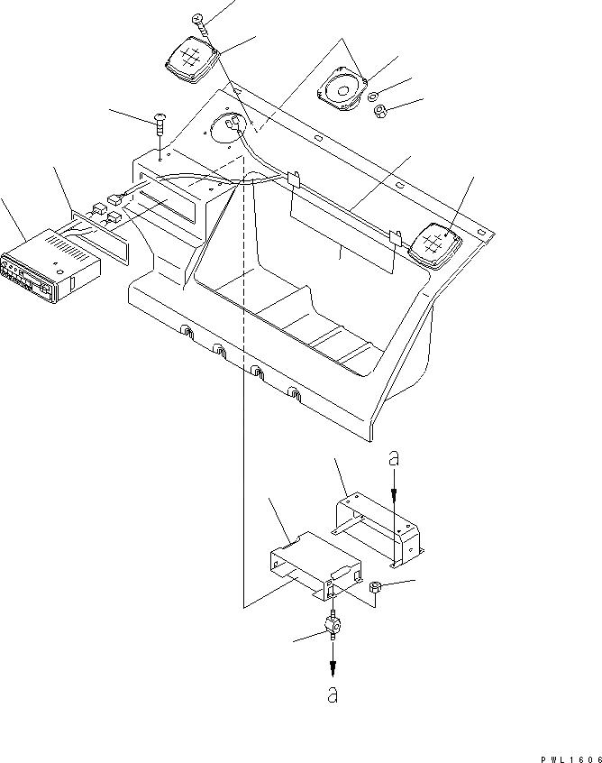 20Y-06-K2261 Komatsu ЭЛЕКТРОПРОВОДКА