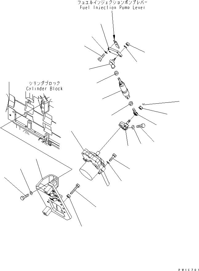 7834-41-3000 Komatsu Шаговый мотор