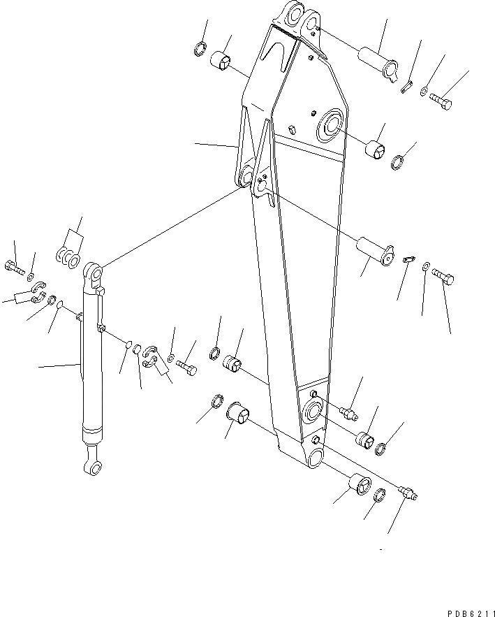 07145-10120 Komatsu уплотнение