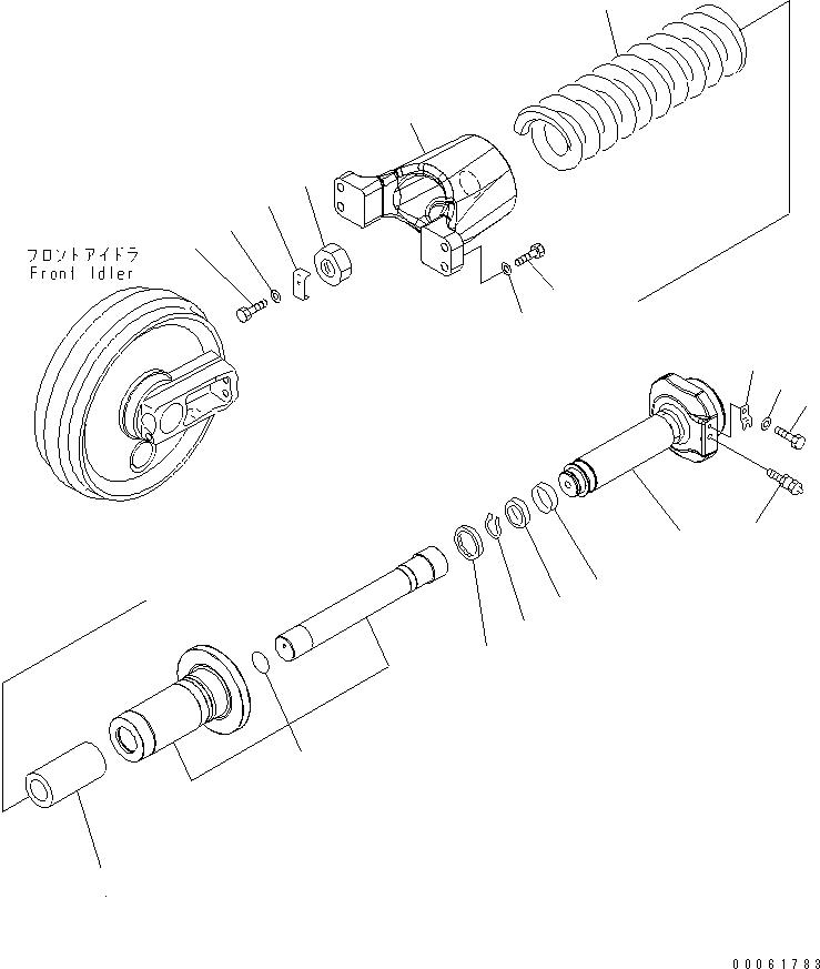 208-30-71430 Komatsu ТРУБКА