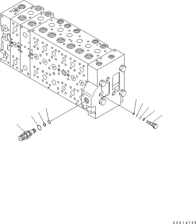 723-48-27503 Komatsu КЛАПАН