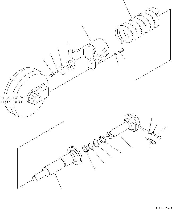 195-30-18271 Komatsu Пыльник
