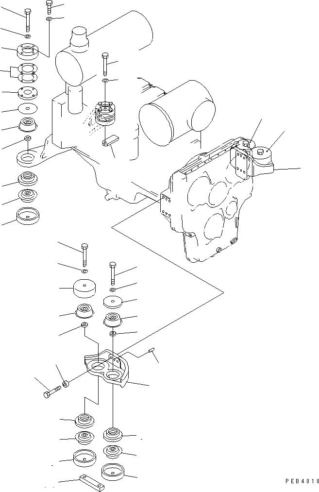 21T-01-11220 Komatsu УГОЛЬНИК