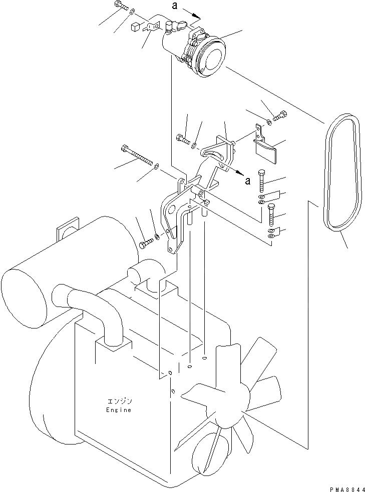 04120-21741 Komatsu Ремень