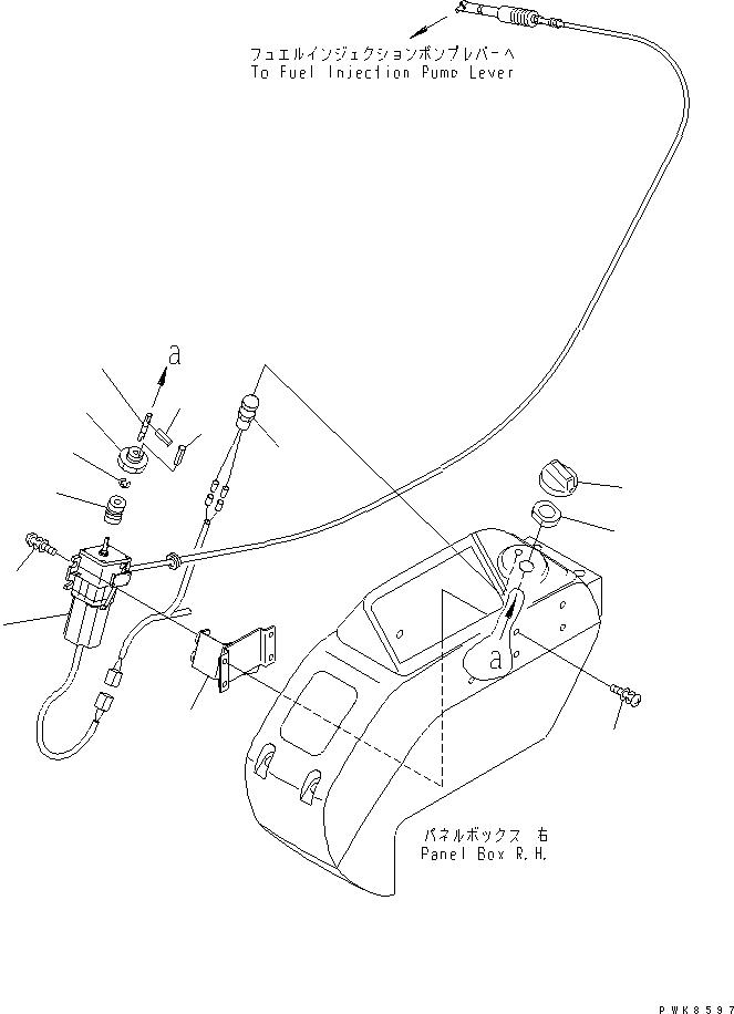 21W-43-21251 Komatsu DIAL